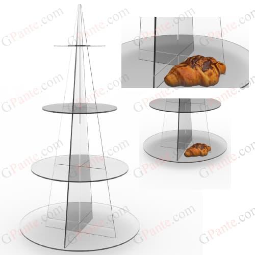 استند کیک و شیرینی