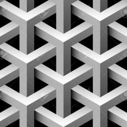 وکتور پارامتریک مکعب سه بعدی