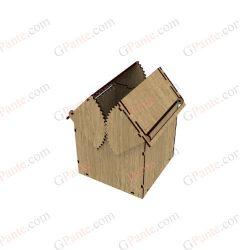 طرح برش لیزری جعبه مکانیکا