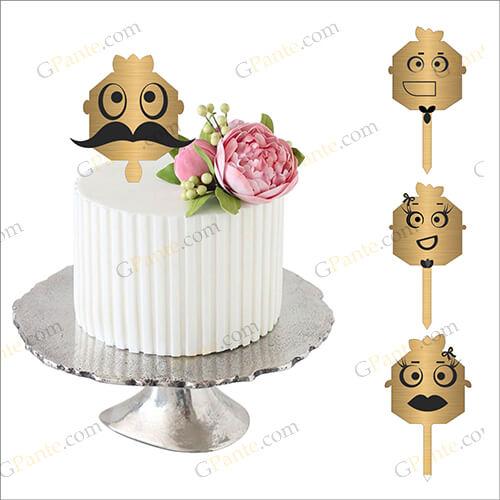 طرح برش لیزری تاپر کیک یلدا