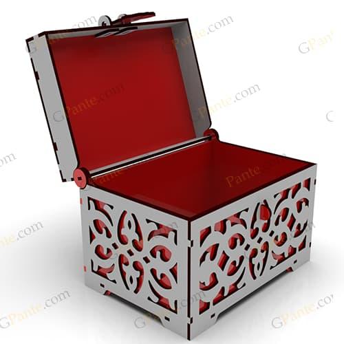 فایل برش لیزر جعبه صندوقچه ای سوییت